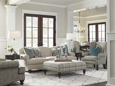 Lexington Coventry Hills Asbury Sofa with Rolled Arms and Tight Back - Becker Furniture World - Sofa Twin Cities, Minneapolis, St. Paul, Minnesota