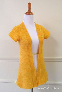 Ravelry: AlisaTheYarnista's Awesome Yellow Nevis
