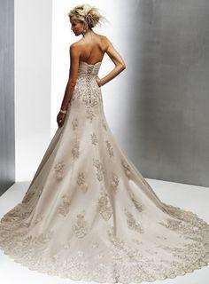 Modern vintage wedding gowns