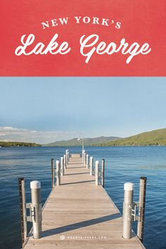 New York's Lake George is a family destination with numerous attractions along its shores.