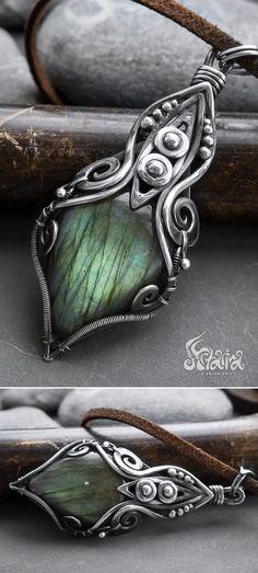Labradorite silver p