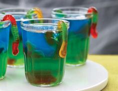 Its Halloween tomorrow and I have the perfect thing for you to wow your friends and family with.. Creepy Crawly Vodka Jelly Shots! Vodka Jelly Shots.