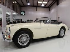 The Austin-Healey was born from the Healey Hundred, first shown at the 1952 Earls Court Motor Show. British Motor Industry legend Sir Leonard Lord, soon convinced Healey that Austin should build the car and thus...