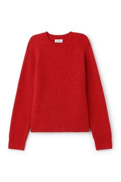 Weekday image 1 of Delina Sweater in Yellowish Red