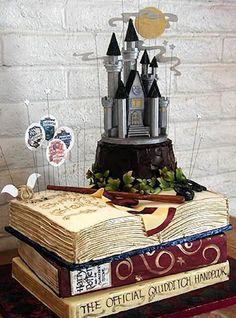 Vale's a dica...: Bolos Nerds - Harry Potter Cake