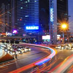10 Reasons to Live Abroad and Teach English in Shenzhen China, Shenzhen Night Skyline