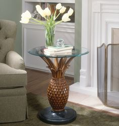 Butler Specialty Side Table Heritage Finish - 0313070 $649.00