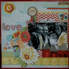 Happy Family - Scrapbook.com BasicGrey - PBandJ Collection