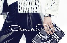 Oscar de la Renta Fall/Winter 2014/2015 campaign photographed by Norman Jean Roy.