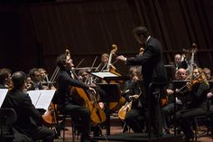 Maximilian Hornung performs with the Orchestre Philharmonique du Luxembourg under the baton of Nikolaj Znaider (17.10.2014, photo: @alsallo) #cello