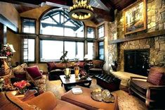 Modern rustic home interior design rustic home decorating ideas living room country rustic home decor ideas Comfortable Living Rooms, Cozy Living Rooms, Living Room Modern, Living Room Designs, Living Room Decor, Dining Rooms, Small Living, Pottery Barn, Layout