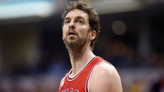 INDIANAPOLIS, INDIANA - MARCH 29:  Pau Gasol #16 of the Chicago Bulls watches the action during the game against the Indiana Pacers at Bankers Life Fieldhouse on March 29, 2016 in Indianapolis, Indiana. NOTE TO USER: User expressly acknowledges and agrees that, by downloading and or using this photograph, User is consenting to the terms and conditions of the Getty Images License Agreement.  (Photo by Andy Lyons/Getty Images)