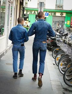 Double denim x 2