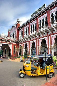 Chennai Egmore (Madras) Station, Chennai, India