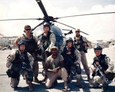 "Delta Force and Special Operations Aviators (160th SOAR,""Nightstalkers"") in Mogadishu, 1993"