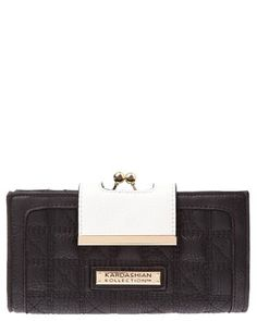 New Kardashian KollectionAust KK Quilted Frame Wallet - $59.99 Quilting Frames, Purse Wallet, Kardashian, My Design, Wallets, Favorite Things, Purses, Bags, Accessories