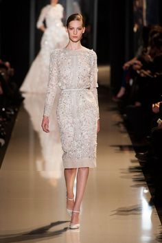 The detailing is perfection! Elie Saab Haute Couture Spring 2013