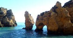 Algarve: Ponta da Piedade - Highlight an der Felsalgarve - Atemberaubende Wasserlandschaft südlich von Lagos