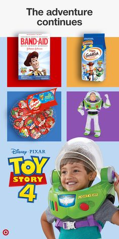 Get ready for the adventure of a lifetime! Shop toys, snacks & more for fans that want to keep the adventure going. Toy Story Movie, Toy Story Party, Cute Babies, Baby Kids, Mens Toys, Interactive Toys, Toy Story Birthday, All Toys, Band Aid