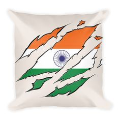 Indian Ripped Pillow