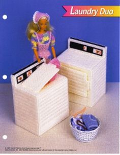 DIY Barbie Furniture with plastic canvas | Free Stuff: barbie plastic canvas furniture - Listia.com Auctions for ...