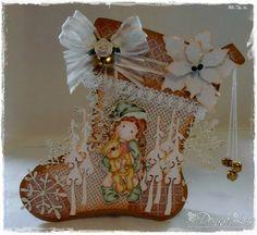 Donna's Card Emporium: A Christmas Stocking & Some News!!!
