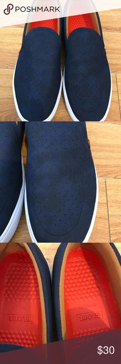 Mens globe Australia slip on shoes 13 Mens globe Australia slip on shoes, size 11. Extra comfortable, perfect everyday shoes. Breathable Top, perfect for summer time. Gently used twice in good overall condition. BUNDLE & SAVE 15% ❌TRADES❌-84618- Globe Shoes Loafers & Slip-Ons