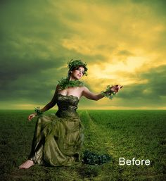 Manipulation Secrets 3 – Shading and Lighting   PSD Box #Photoshop #Effects #Lighting
