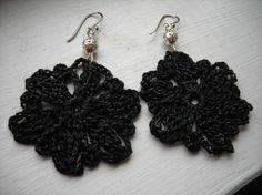 (4) Name: 'Crocheting : Ink Blooms... Free pattern!