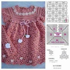 Kız Bebek Örgü Elbise Modelleri Ve Örgü Şemaları - El Sanatları ve Hobi Sitesi - El Sanatları ve Hobi Sitesi
