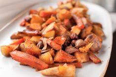 Χειμωνιατικες ριζες καραμελωμενες με φουντουκια και τσιπς καρυδας