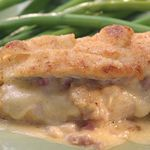 Chicken Breast stuffed with cheese and ham. Diabetic friendly. Lower sodium. Looks really good.