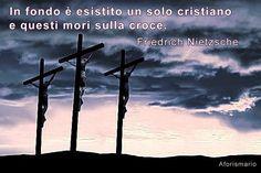 Raccolta dei migliori aforismi e delle frasi più significative sulla Croce , sul Crocifisso (o Crocefisso ) e sulla Crocifissione . La cr...