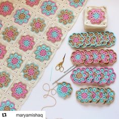 How to Crochet Flower, Make a Granny Square and Join Them 👕 Get your T-Shirt, Mug, Tote Bag, Case phone. and more perfect for your family members and friends by… Crochet Pattern - Check this out now! Benzer Çalışmalar No related posts. Motifs Granny Square, Crochet Motifs, Granny Square Crochet Pattern, Crochet Blocks, Crochet Squares, Crochet Blanket Patterns, Free Crochet, Knitting Patterns, Granny Squares