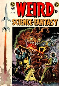 'Weird' #27 by the amazing Wally Wood.