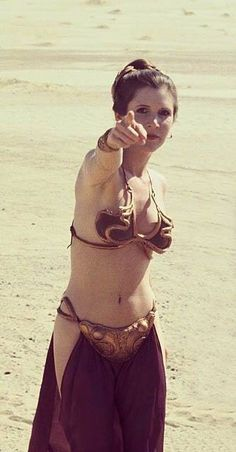 Carrie Fisher - Princess Leia - Star Wars - Return of the Jedi ♥