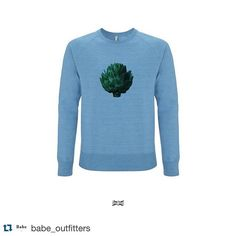 #Repost @babe_outfitters with @repostapp. Thank you @babe_outfitters for featuring our new recycled raglan sweat-shirt Artichoke made of recycled organic cotton & recycled polyester.  Ultra Tee Artichoke Sweatshirt 45.00 Free Delivery  Unisex  ___ #ecofashion #eco #ecofriendly #organic #sustainability #recycle #green #health #climate #fairtrade #instagood #instadaily #instafashion #onlineshop #shopping #freeshipping #shop #mensstyle #male #photooftheday #picoftheday #mensfashion…