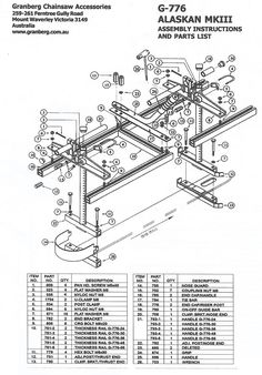 diy chainsaw mill plans - Google keresés More