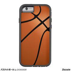 バスケットボール iPhone 6 タフ・エクストリームケース