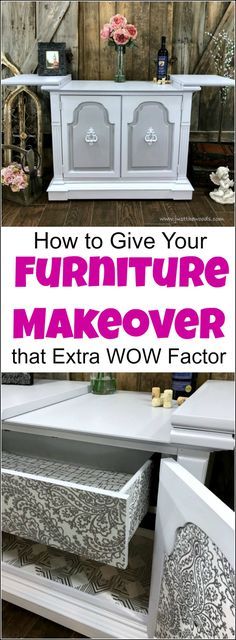 Give your furniture