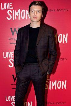 "Mar 08 | ""Love, Simon"" 20th Century Fox & Wingman Screening - 017 - Nick Robinson Fan / Photo Archive | Photos of Nick Robinson"