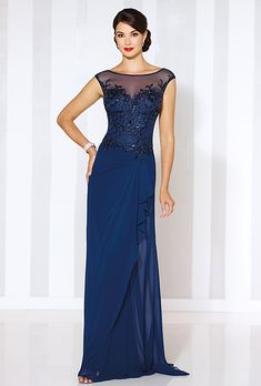 Purchase mother of bride gowns online. For your special day, browse our collection of Cameron Blake by Mon Cheri dresses and help mom find the perfect outfit! Formal Evening Dresses, Elegant Dresses, Pretty Dresses, Evening Gowns, Beautiful Dresses, Bridesmaid Dresses, Prom Dresses, Bride Dresses, Dresses Uk