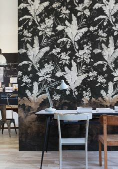Camp Noire wallpaper by Wall & Deco