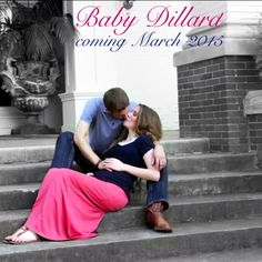 They're expecting! So happy for Jill and Derek. Good Christian people.