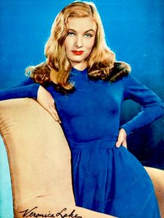Veronica Lake in 1943. #Hollywood Glamour | And That's My Perfect Life