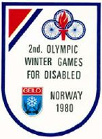 The 1980 Winter Paralympic Games, the second Winter Paralympics, were held from 1 to 7 February 1980 in Geilo, Norway. Eighteen countries took part with 299 athletes. All classes of athletes with locomotor disabilities were able to participate. Organized by the International Stoke Mandeville Games Federation (ISMGF) and the International Sports Federation of the Disabled (ISOD). Originally known as the 2nd Olympic Winter Games for Disabled
