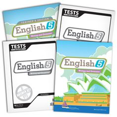 BJU Press Homeschool   English 5 Subject Kit