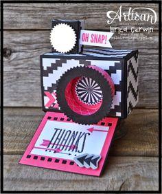 Oh Snap Camera Box featuring Hip Notes and Geometrical DSP. http://pinkbuckaroodesigns.blogspot.com/2014/02/aww-feb-3.html