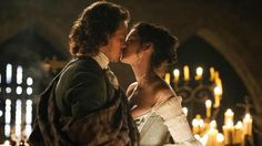 Jamie and Claire's wedding night lives up to all our expectations