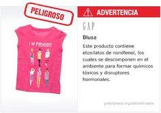 GAP Playera   #Detox #Fashion